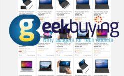 【GeekBuyingクーポン情報】小型ノートPCセール開催「CHUWI MiniBook Core-M3モデル」が$416.99など