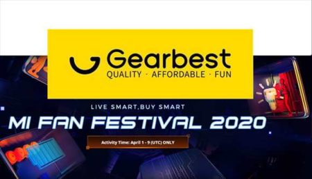 【GearBest】4月1日~Xiaomiブランドセール開催