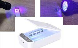UV紫外線の殺菌灯を使った除菌ボックスなど商品に注意!UVライトの効果・汚れの可視化