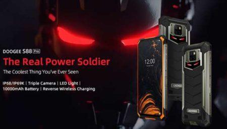 アイアンマン顔のアウトドアスマホ「DOOGEE S88 Pro」!カメラ性能・スペックレビュー