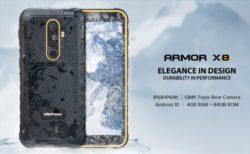 現場の使い捨てに手軽な低価格タフネススマホ「Ulefone Armor 8X」発売!性能・カメラ・スペックレビュー