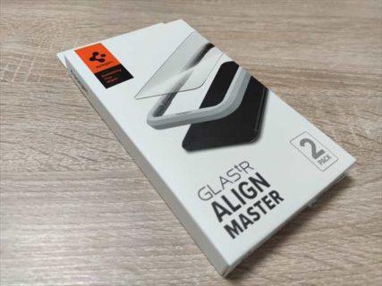 【レビュー】iPhone 12 Mini用保護ガラスフィルム「 Spigen GLASTR AlignMaster」百均では出ない超高品質