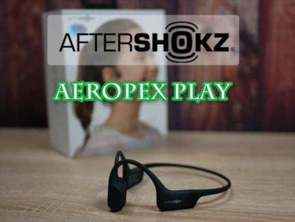 【レビュー】音量制限モード付き子供用の骨伝導ヘッドホン「AfterShokz Aeropex  Play」