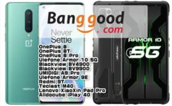 【Banggood】Ulefone Armor 10・Oneplus 8など在庫一掃セールほか