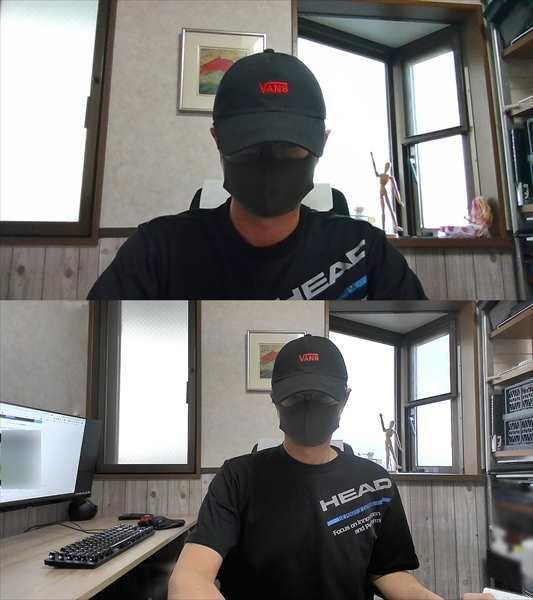 eMeet C960 画角テスト