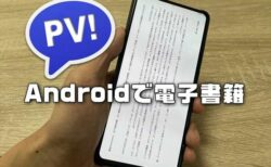 【Android】PerfectVewerでEpubや青空文庫形式の縦書き電子書籍を読む設定方法