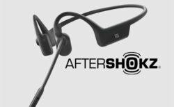 【AfterShokz】ビジネス向け骨伝導ヘッドホン「OpenComm」にシックなオールブラック追加
