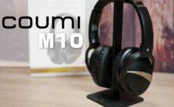 【レビュー】高音質コーデックaptX HD対応ワイヤレスヘッドホン「COUMI M10 BT-350」