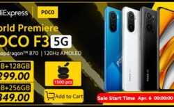 【Aliexpress数量限定激安セール】Xiaomi Poco F3が299ドル~!モンスター級高コスパのハイエンド端末