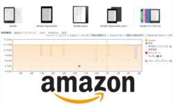 Kindleシリーズのリアルタイム価格表と直近1年の最安値!買い得価格一覧