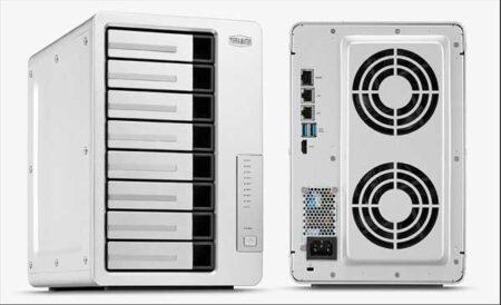 TerraMaster、10GbE対応のビジネス向け8ベイNASキット「F8-422」をリニューアル