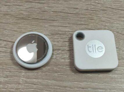 Tile MateとAirTag紛失防止タグ買うならどっち?機能・スペック・性能を徹底比較