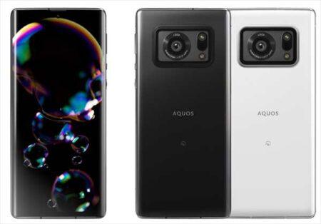 シャープから1インチのイメージセンサー搭載の1眼カメラスマホ「AQUOS R6」6月中旬に発売