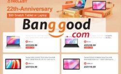 【Banggood】POCO X3 Proが217ドル+Teclastが22周年記念セール開催