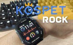 【レビュー】Kospet Rock !血中酸素濃度+血圧測定機能付きスマートウォッチ