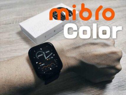 【レビュー】SpO2( 血中酸素濃度)機能つきスマートウォッチMibro Color(ミブロ・カラー)