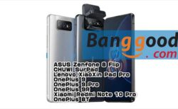 【Banggoodクーポン】くるりんカメラで全画面化したハイエンド機「ASUS Zenfone 8 Flip」$ 649.00~ほか