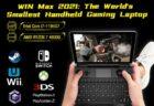 ゲーミングUMPC「WIN Max 2021」クラファン登場!マザボ―のみも販売!スペック解説