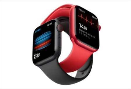 【Amazon】Apple Watch Series 6が5,500円オフ!血中酸素濃度センサーが便利
