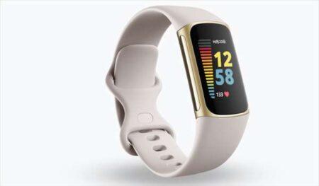 Fitbitのフィットネストラッカー Charge 5が9月末発売!10%薄型化してSUICA対応