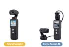 セパレート可能なカメラ付きジンバル「Feiyu Pocket2/2s」クラウドファンディングに登場
