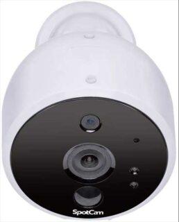 完全ワイヤレスを実現したクラウド屋外用監視カメラ「SpotCam Solo 2」発売