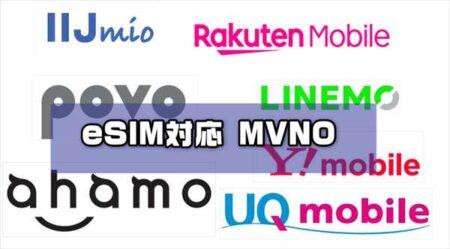 eSIMに対応している格安SIM(MVNO)会社・携帯キャリアの特色とプラン!お得なDSDS組み合わせまとめ・比較