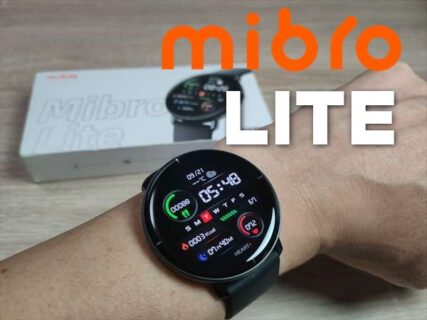 【実機レビュー】パルスオキシメーター機能付きスマートウォッチMibro LITE(ミブロ・ライト)