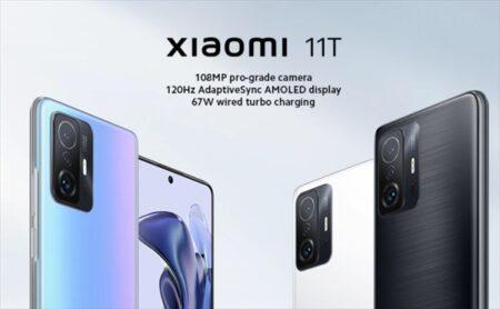 【新製品セール】「Xiaomi 11T」MediaTek Dimensity 1200-Ultra搭載の6.67型Android端末!スペックレビュー