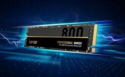 「Lexar」最大7,400MB/sを達成したPCIe 4.0対応SSD発表