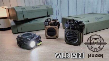 【実機レビュー】「MUZEN WILD MINI」圧倒的に所有欲を満たすフルメタルのミリタリーデザインのアウトドア向けBluetoothスピーカー