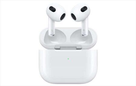 【本日予約開始】Apple「第3世代 AirPods」発表!税込23,800円